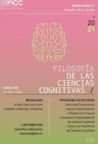 Diplomado en Filosofía de la Ciencia, mención Filosofía de las Ciencias Cognitivas 2021