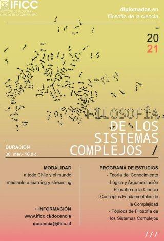 Diplomado en Filosofía de la Ciencia, mención Filosofía de los Sistemas Complejos 2021